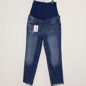 NWT ASOS Maternity straight leg jeans 27 in inseam